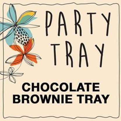 Chocolate Brownie Tray